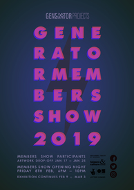 GENERATORProjects Members' Show 2019