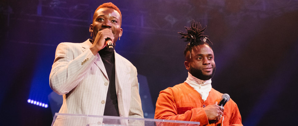 Young Fathers at SAY Award