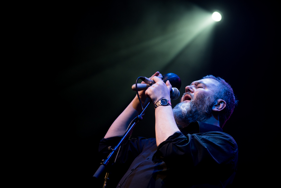 Aidan Moffat & RM Hubbert live at Old Fruitmarket, Glasgow, 3 Feb