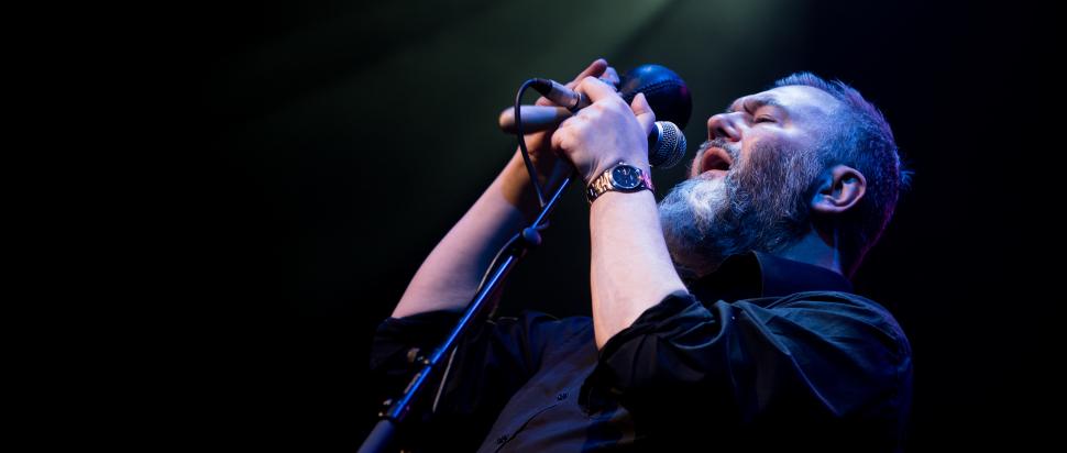 Aidan Moffat & RM Hubbert live at Old Fruitmarket, Glasgow, 3 Feb
