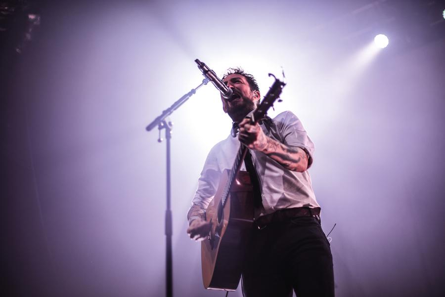 Frank Turner live at O2 Academy, Glasgow, 29 Jan