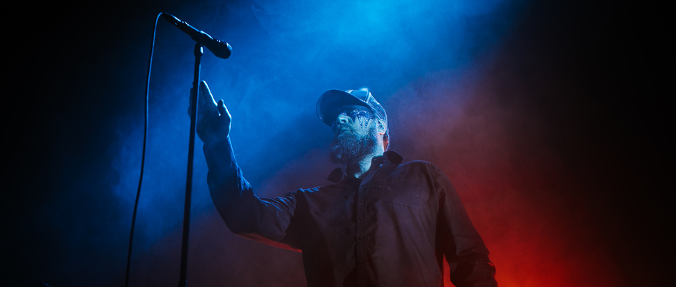 "John Grant live at Albert Hall, Manchester, 10 Feb by <a href=""http://www.haydnrydings.co.uk/"" target=""_blank"">Haydn Rydings</a>"