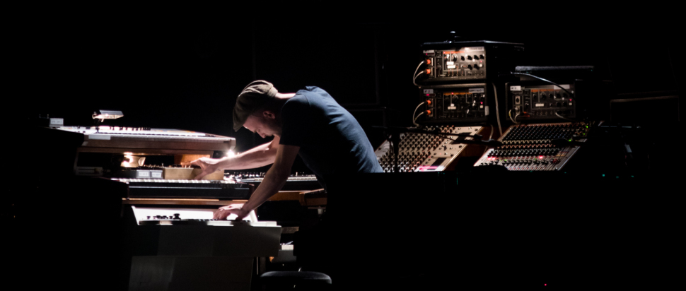 Nils Frahm live at Usher Hall, Edinburgh, 19 Feb