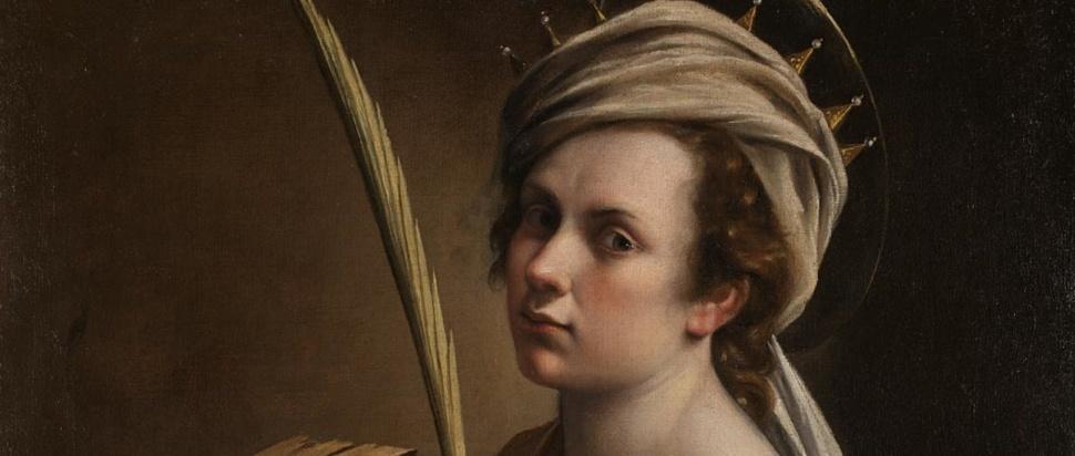 Artemisia Gentileschi - Self Portrait