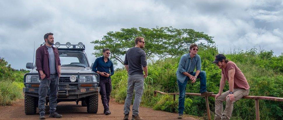 Ben Affleck, Oscar Issac, Charlie Hunnam, Garrett Hedlund, Pedro Pascal in Triple Frontier