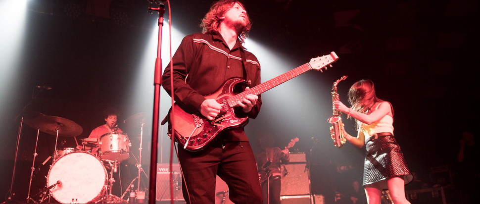 The Zutons live at Barrowlands, Glasgow, 28 Mar