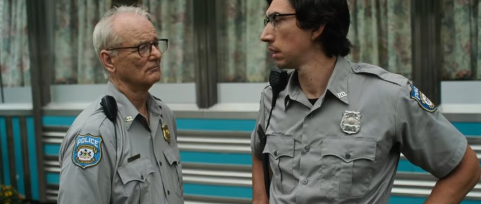 Bill Murray and Adam Driver in The Dead Don't Die