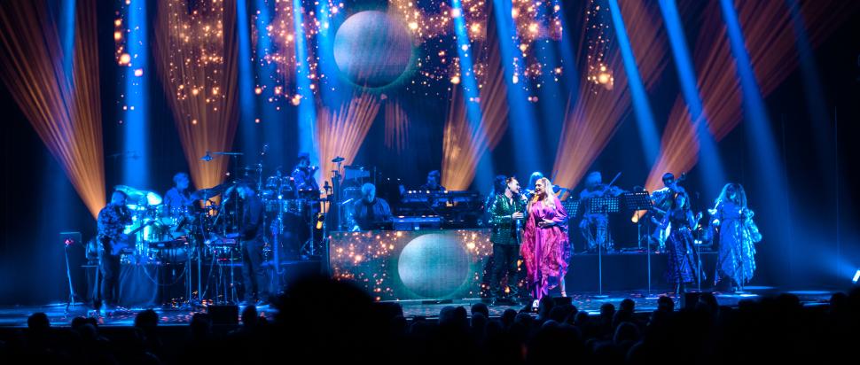 Giorgio Moroder live at Glasgow Royal Concert Hall, 4 April