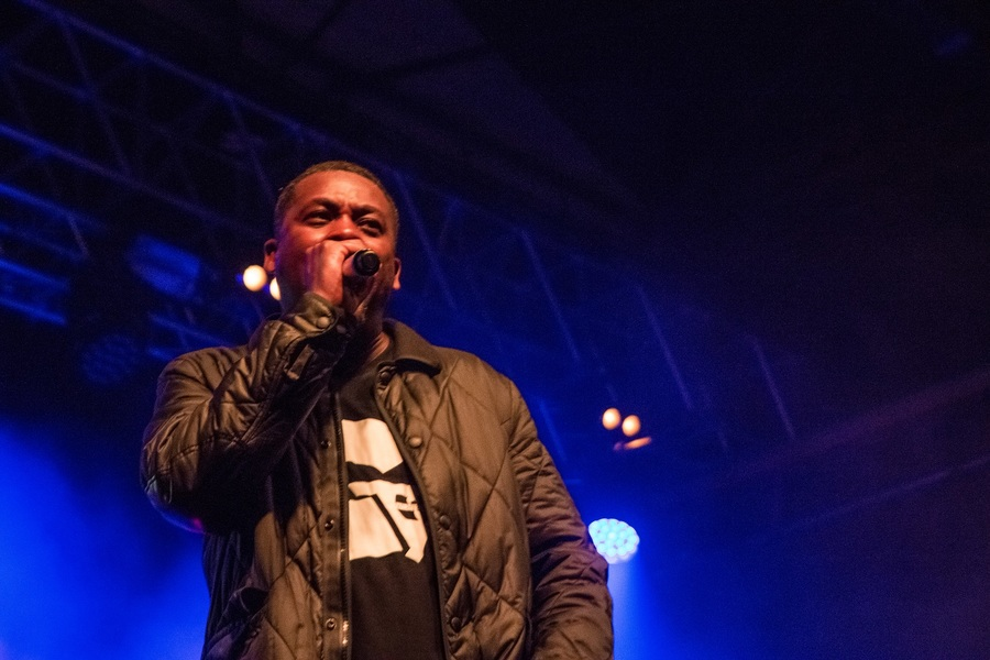 GZA live at SWG3 Galvanizers, Glasgow, 11 Apr