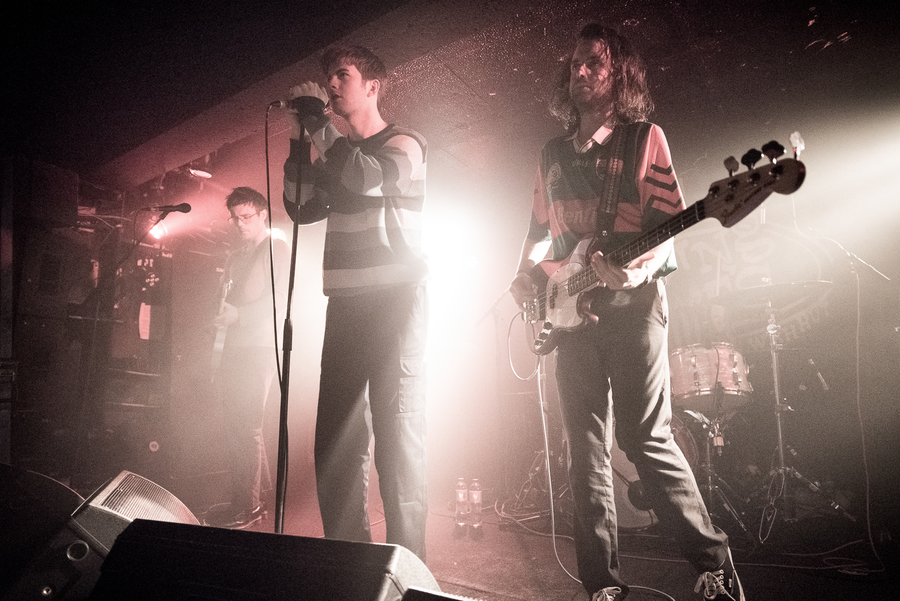 Fontaines D.C. live at King Tut's, Glasgow, 14 Apr