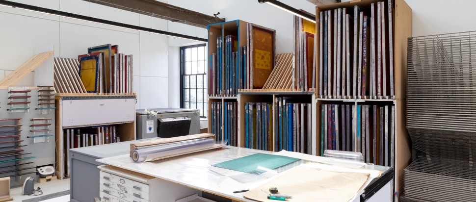Edinburgh Printmakers Printmaking Studio