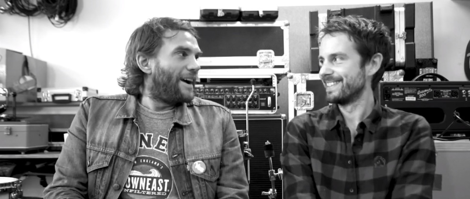 Grant Hutchison and Simon Liddell (Frightened Rabbit)
