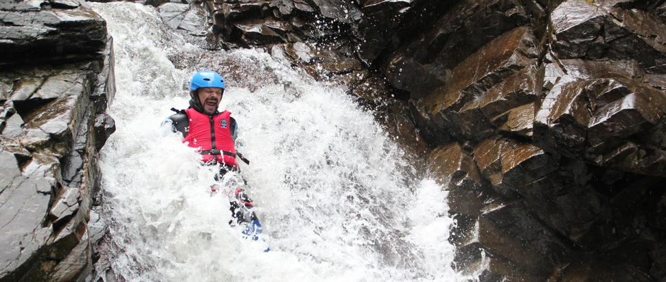Nae Limits, Canyoning