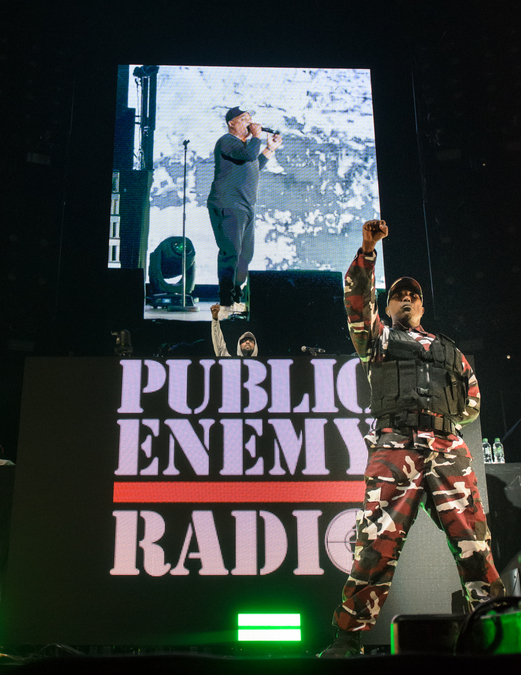 Public Enemy Radio (Gods Of Rap) live at SSE Hydro (Glw), 12 May
