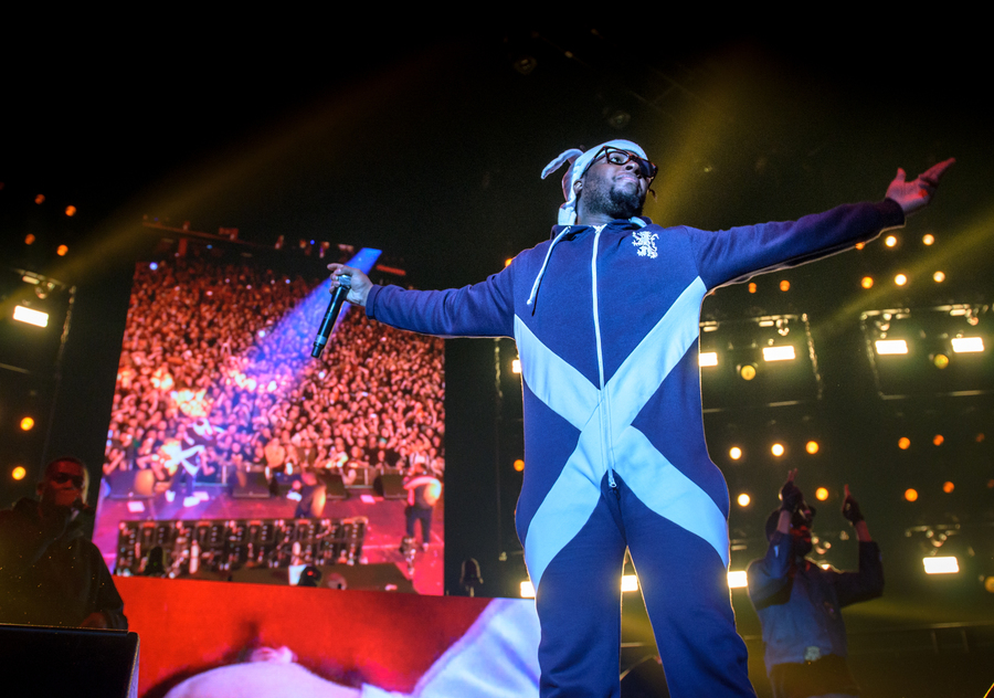 Wu Tang Clan (Gods Of Rap) live at SSE Hydro (Glw), 12 May