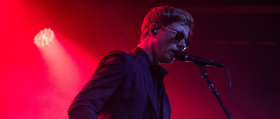 Interpol live at SWG3 (Glw), 26 May