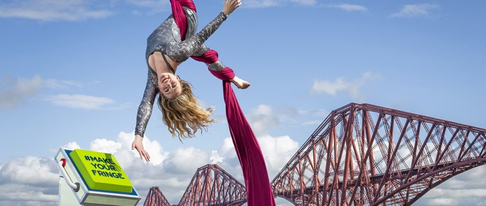 MakeYourFringe – The Edinburgh Festival Fringe 2019 Programme is launched Photo by Laurence Winram