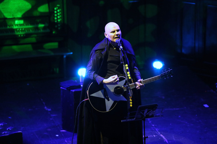 Billy Corgan live at St Luke's, Glasgow, 17 Jun