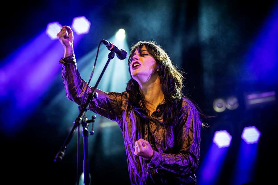 Sharon Van Etten at Roskilde