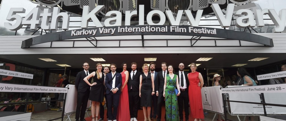 Patrick's premiere at the 54th Karlovy Vary International Film Festival