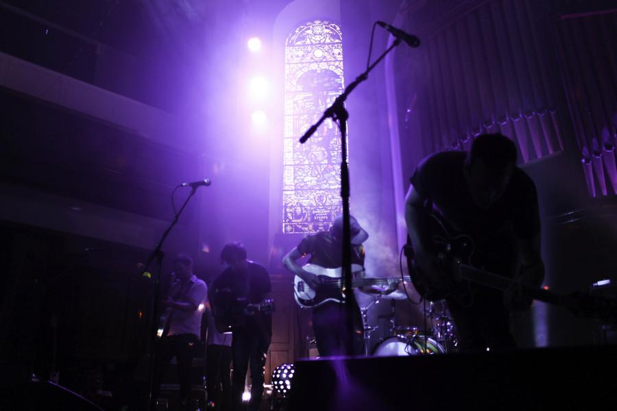 Rolling Blackouts Coastal Fever live at St Luke's (Glw), 15 July