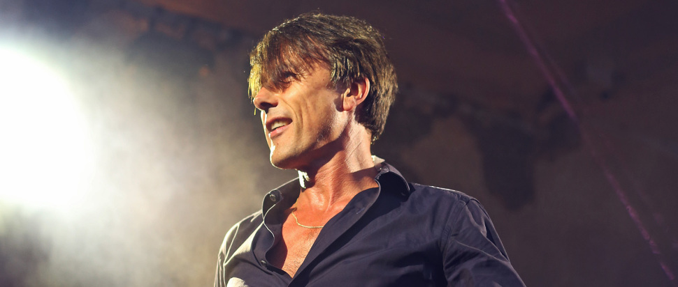 Suede live at Kelvingrove Bandstand, Glasgow, 31 Jul