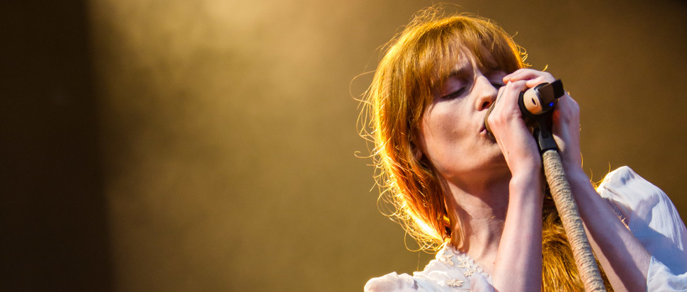 Florence and the Machine live at Princes St Gardens, 7 Aug
