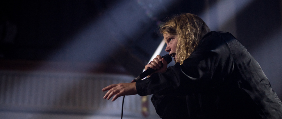 Kate Tempest live at Leith Theatre, Edinburgh, 9 Aug