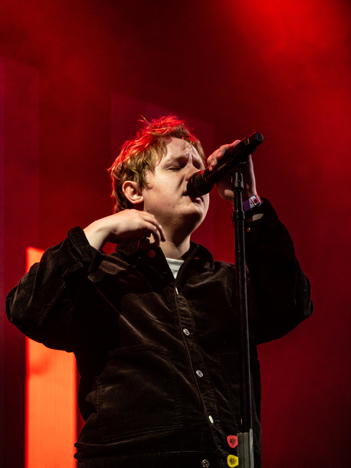 Lewis Capaldi live at Prices St Gardens (Ed), 13 Aug