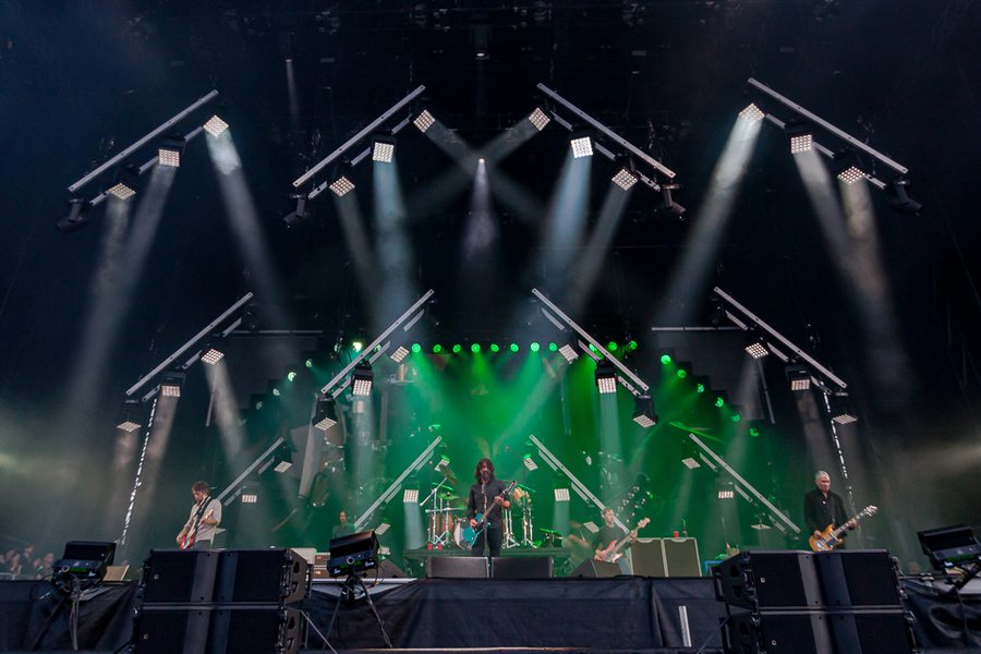 Foo Fighters live at Bellahouston Park, Glasgow, 17 Aug