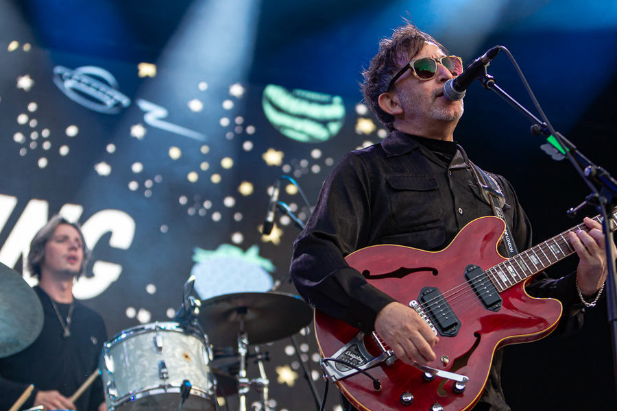 The Lightning Seeds supporting Madness live @ Princes Street Gardens, Edinburgh, 18 Aug