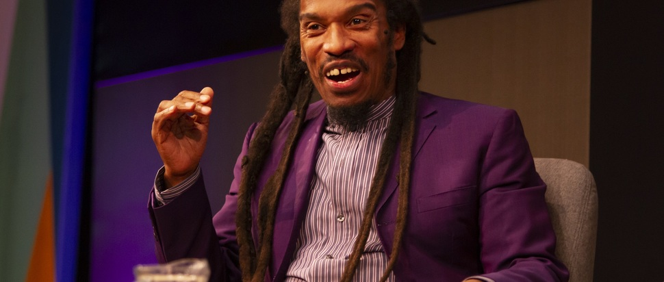 Benjamin Zephaniah at Edinburgh Book Festival