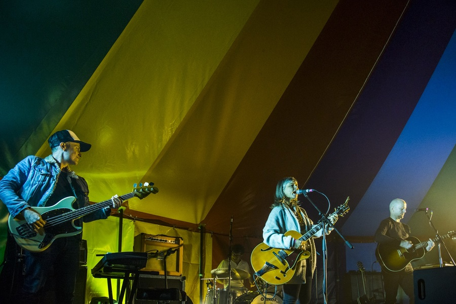 The Vaselines live at Jupiter Rising, Jupiter Artland, 23 Aug