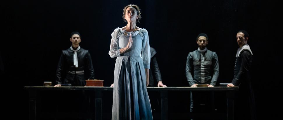 Araminta Wraith and company in Scottish Ballet's The Crucible