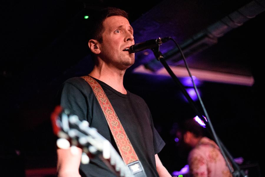 Pile live at Nice N Sleazy, Glasgow, 17 Sep