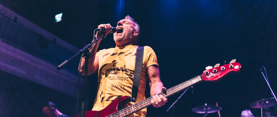 Peter Hook and the Light live at The Queen's Hall, Edinburgh, 19 Sep