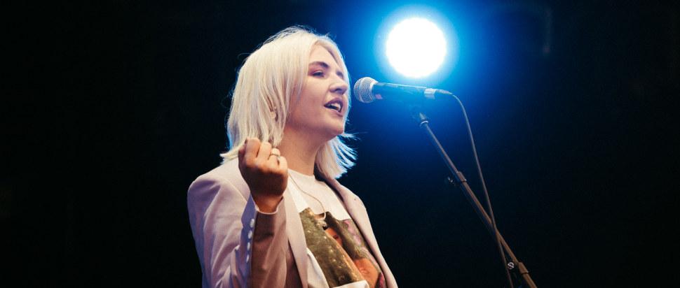 Self Esteem live at Princes Street Garden, Edinburgh, 7 Aug