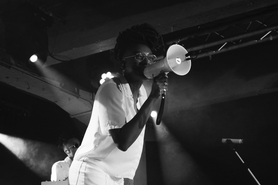 Little Simz live at SWG3, Glasgow, 24 Oct