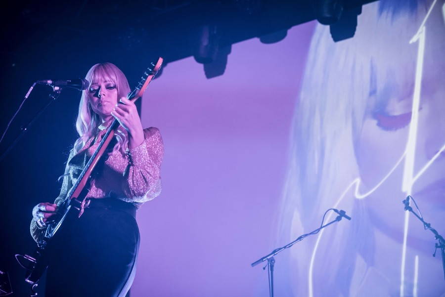 Chromatics live at SWG3, Glasgow, 24 Oct