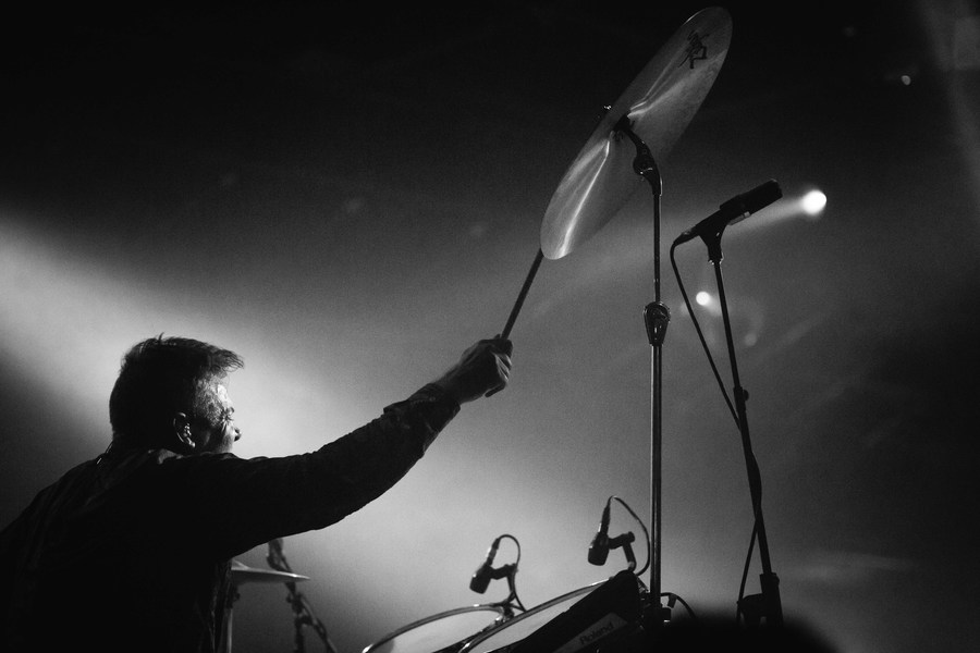 Battles live at Gorilla, Manchester, 28 Oct