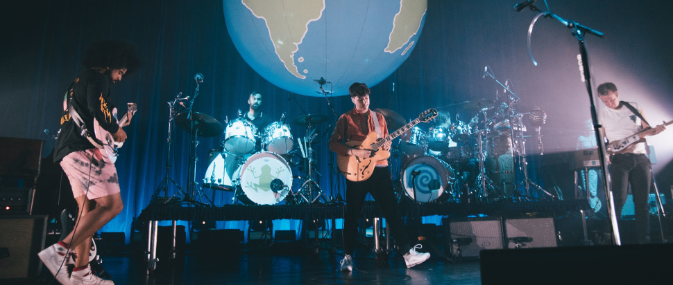 Vampire Weekend live at Usher Hall, Edinburgh, 7 Nov