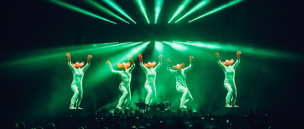 Chemical Brothers live at O2 Arena, London, 30 Nov
