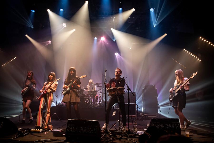 Los Bitchos at Les Trans Musicales de Rennes 2019