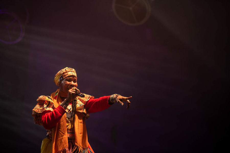 Chouk Bwa and The Ångstromers at Les Trans Musicales de Rennes 2019