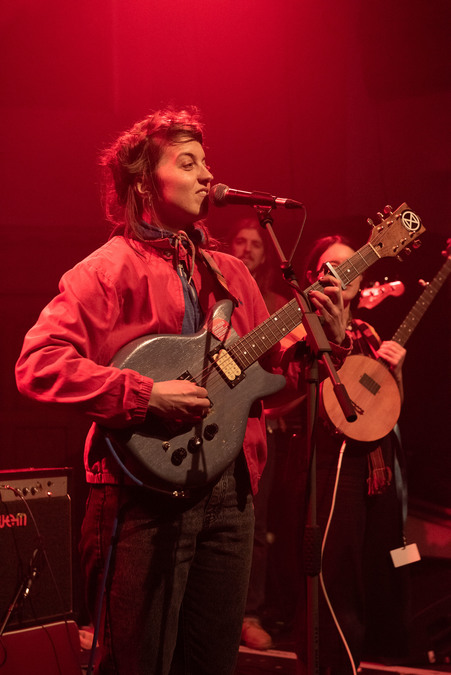 Rozi Plain supporting Pictish Trail live at St Luke's, Glasgow, 17 Jan