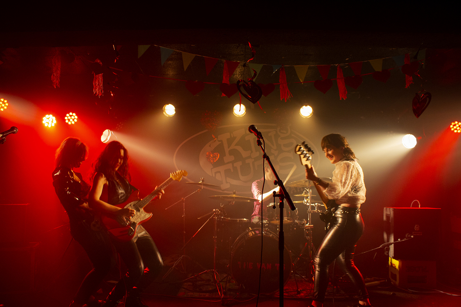 The Van T's live at King Tut's, Glasgow, 25 Jan