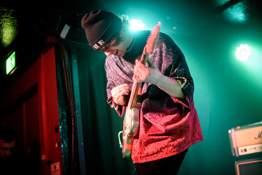 Vukovi live at Nice N Sleazy, Glasgow, 24 Jan