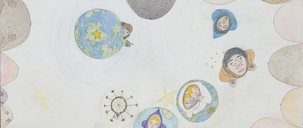 Shuvinai Ashoona, Pregnancies in Universe, 2014