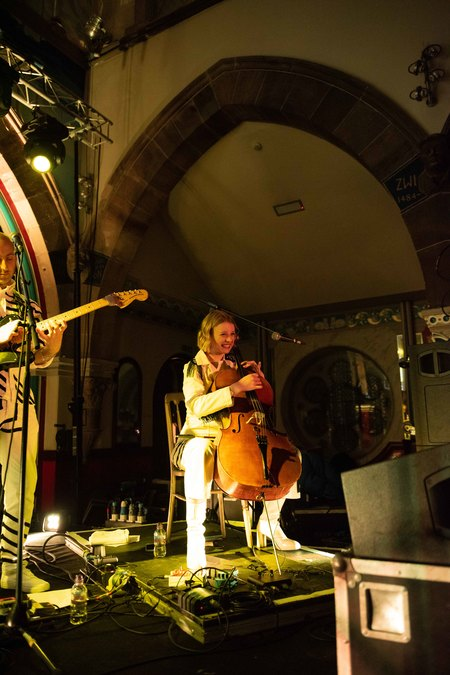 Anna Meredith live at Oran Mor, Glasgow, 8 Feb