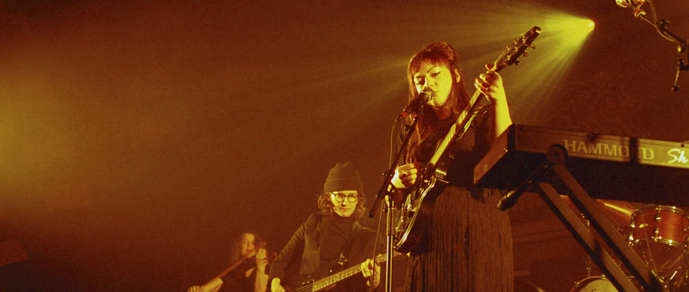 Angel Olsen live at Barrowlands, Glasgow, 14 Feb